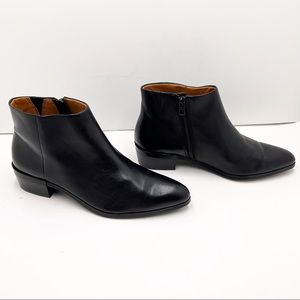 {Coach} Montana Soft Vegan Leather Ankle Boots